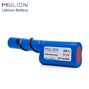 11.1V2600mah Li ion Battery