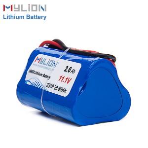 11.1V2600mah锂离子电池