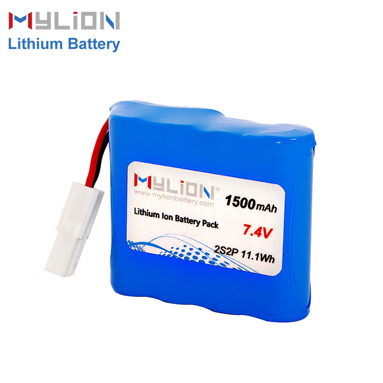 7.4V1500mAh 14500 AA Lithium ion Battery Pack Featured Image