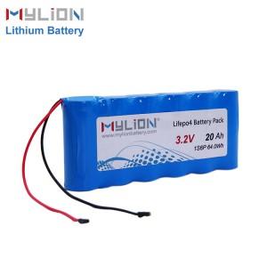 3.2V20ah LiFe PO4 Battery pack