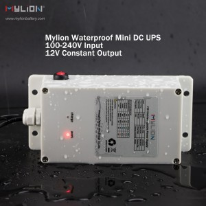 New coming Mylion MA825 12V 2A 74Wh solar power waterproof Mini DC UPS