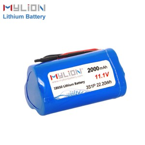 11.1V2000mAh Li ion Battery