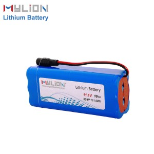 11.1V 10Ah Lithium Battery