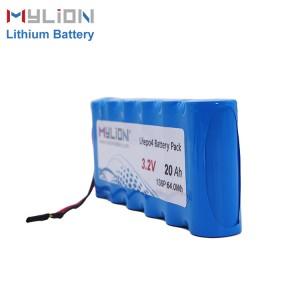3.2V20Ah LiFe PO4 Battery