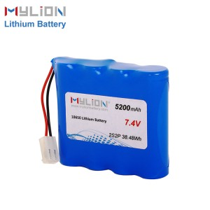 7.4V5200mAh Lithium ion Battery