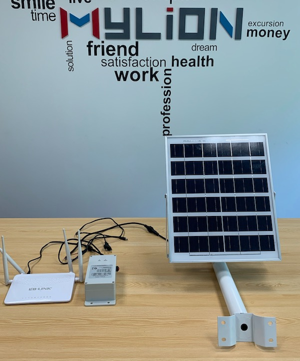 solar panel power mini dc ups waterproof