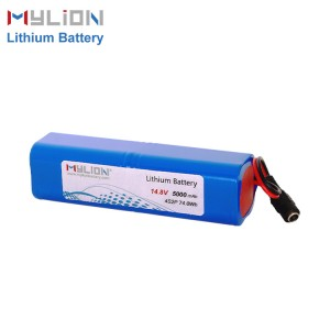 Mylion 14.8V5000mAh Lithium ion battery pack