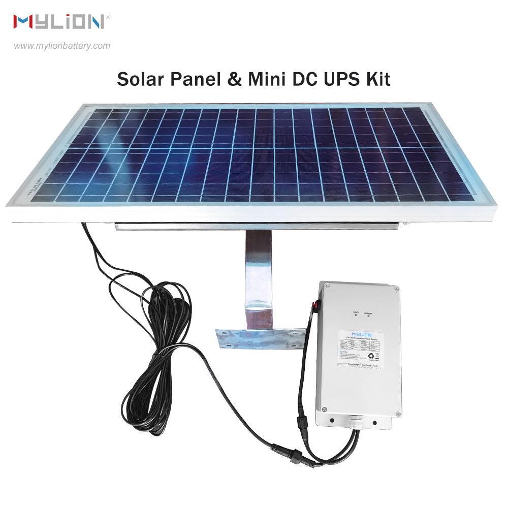 Mylion Waterproof MS1625 Mini DC UPS Solar Power System Kit Featured Image
