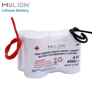 4.8v 4500mah nimh battery pack
