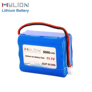 11.1V5000mah Li ion Battery