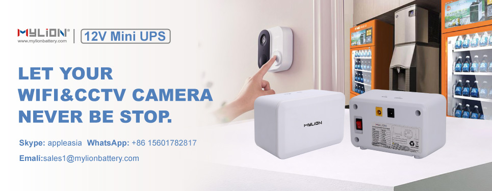Mylion mini dc ups for cctv camera and wifi router.