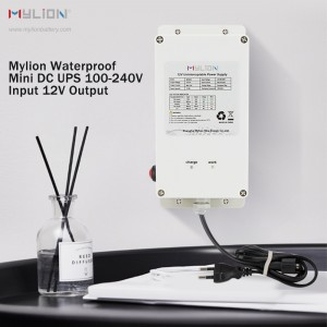 Mylion MA8253 12V 3A 74Wh solar power waterproof Mini DC UPS
