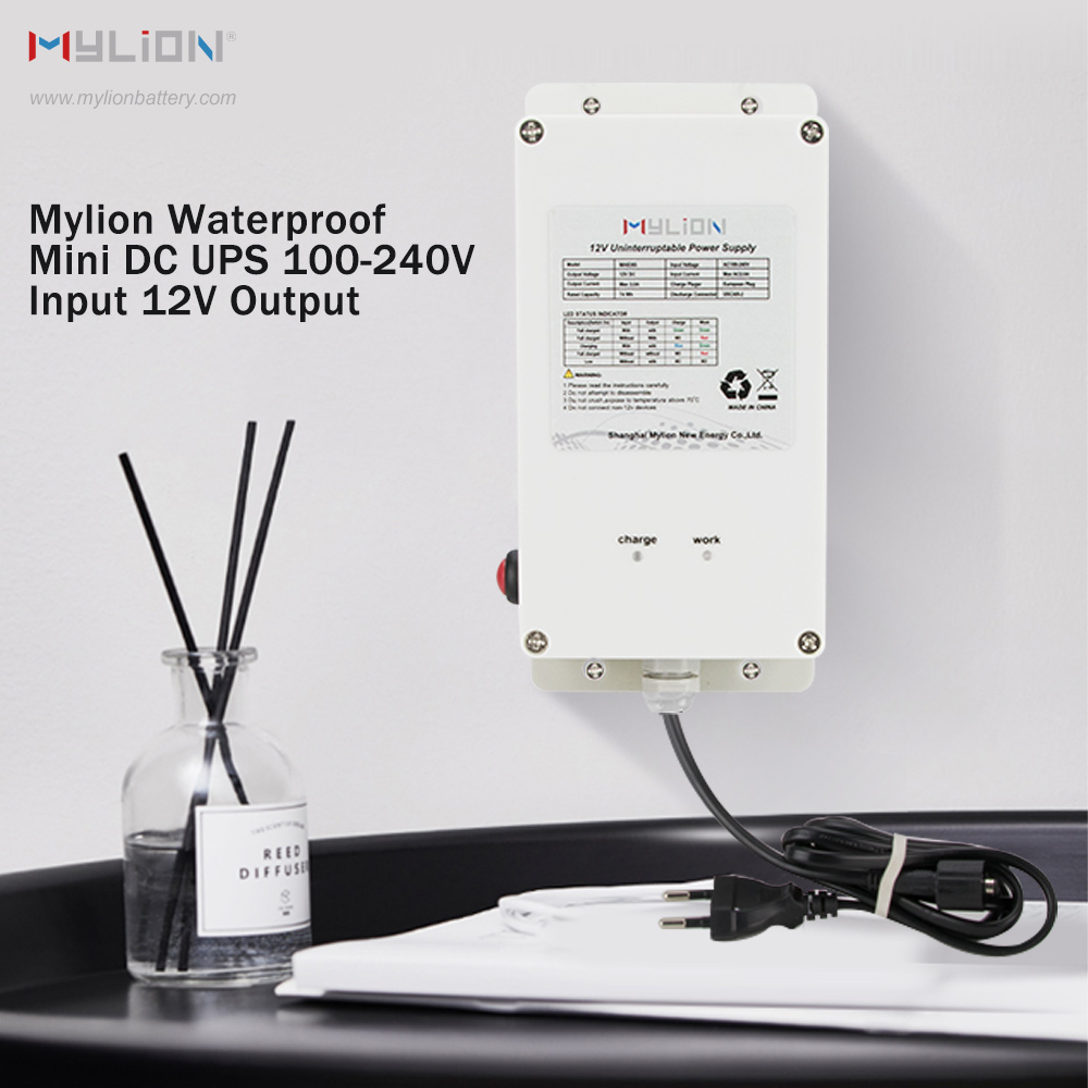 Mylion MA8253 12V 3A 74Wh solar power waterproof Mini DC UPS Featured Image